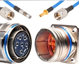 Amphenol выпускает высокочастотные кабельные сборки фиксированной длины для круглых разъемов D38999