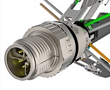Tyco предлагает простой и быстро устанавливаемый коннектор M12 X-Code для установки в полевых условиях