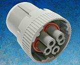 Коннекторы промышленного класса Amphenol AT Circular с 3 и 5 контактами