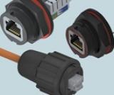 Сетевые коннекторы RJ45 Keystone со степенью защиты IP68