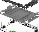 Сокеты и компоненты Tyco LGA 4189 для процессоров Intel PCIe Gen 4