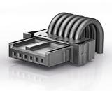 Коннектор ERNI MicroBridge для соединений кабель-плата в автомобильных приложениях