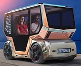 Решения HARTING в системе заряда концептуального транспортного средства «microSNAP»